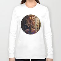egyptian Long Sleeve T-shirts featuring Egyptian by Ayu Marques