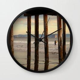 Looking Deeper Morro Bay through Cayucos Pier Wall Clock