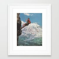 motivation Framed Art Prints featuring MOTIVATION by Josh LaFayette