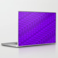 video game Laptop & iPad Skins featuring Video Game Controllers - Purple by C.Rhodes Design
