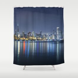 Chicago Blues Shower Curtain