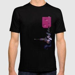 Pocket defense widow T-shirt