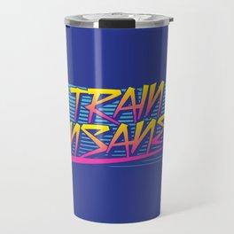 Train Insane Retro Travel Mug