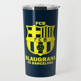 Slogan Barcelona Travel Mug