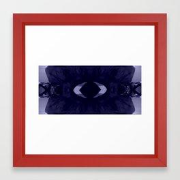 Look at Me/Guardami Framed Art Print