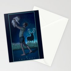 0. The Fool Stationery Cards
