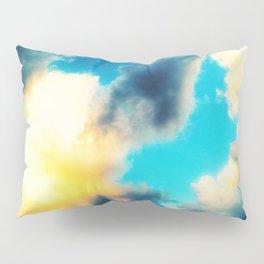 Pale Clouds Pillow Sham