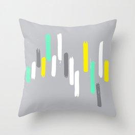 neon stumps Throw Pillow