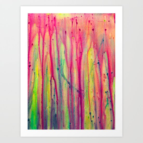 Abstract Painting 22 Art Print