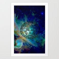 Versace Nebula  Art Print