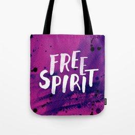 Free Spirit Magenta Tote Bag