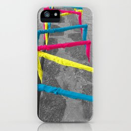 Noise Lines iPhone Case