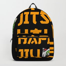 Happy Jiu Jitsu Halloween Zombie Backpack