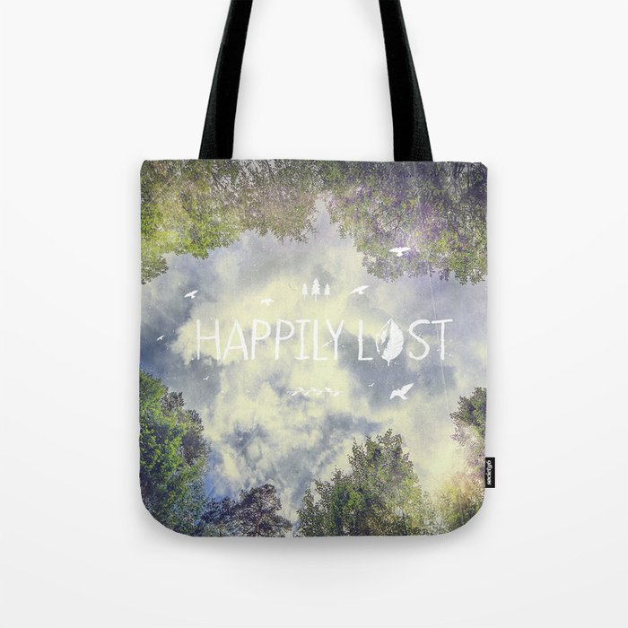 Happily Lost II Tote Bag