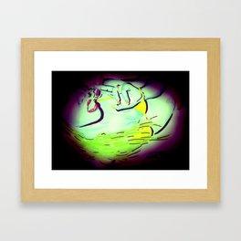 Naami Art - Spotlight Framed Art Print