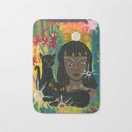 Cat Goddess Bast Bath Mat