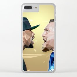 THE FIGHT OF THE CENTURY Clear iPhone Case