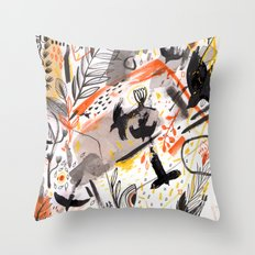 Pattern 15 Throw Pillow