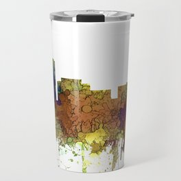 Long Beach, California Skyline - Safari Buff Travel Mug