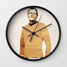 Polygon Heroes - Kirk Wall Clock