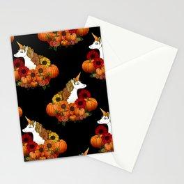 Halloween Unicorn Stationery Cards