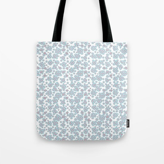 D- d- dotted Tote Bag