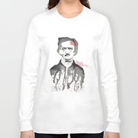 poe Long Sleeve T-shirts featuring Poe by Eda ERKOVAN