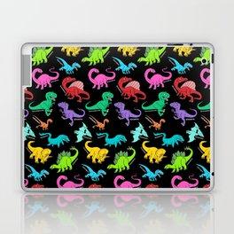 Rainbow dinosaurs Laptop & iPad Skin