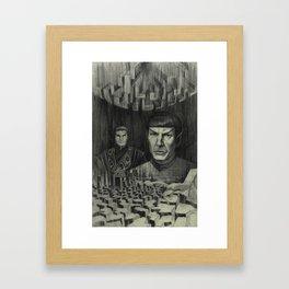 Broken Planet Framed Art Print