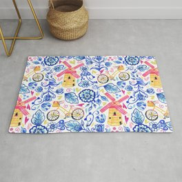 Netherlands Whimsy Rug