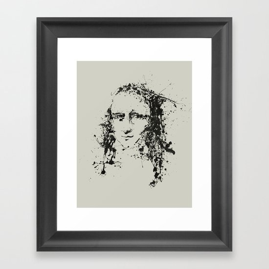 Modern Lisa Framed Art Print