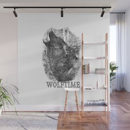 Time of the Wolf Wall Mural
