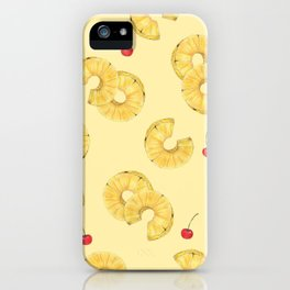 pine and cherry iPhone Case