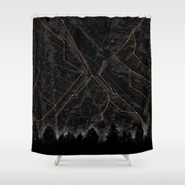 Slopes Shower Curtain