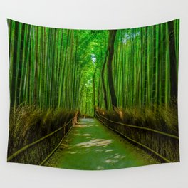 Bamboo Trail Wall Tapestry