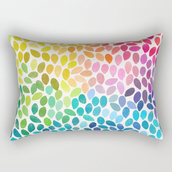 rain 11 Rectangular Pillow