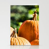 vegetable Stationery Cards featuring  autumn vegetable by Karl-Heinz Lüpke