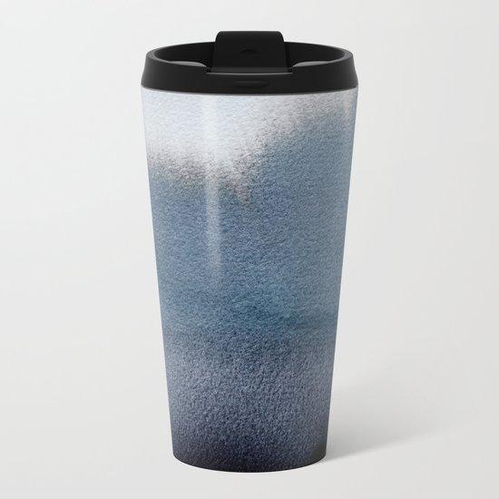 In Blue Metal Travel Mug