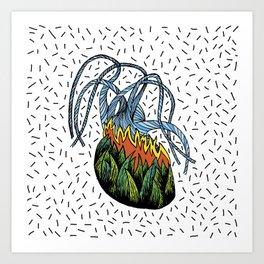 Agavheart Art Print