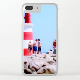 Lighthouse Portugal Clear iPhone Case