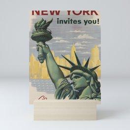 Classic New York Mini Art Print