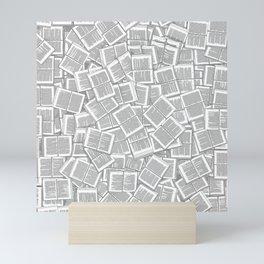 Literary Overload Mini Art Print