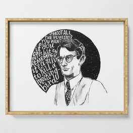 Atticus Finch Serving Tray