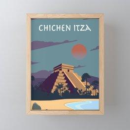 Chichén Itzá Framed Mini Art Print