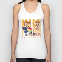 one piece Tank Tops featuring Sexy Nami - One Piece by feimyconcepts05