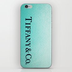 Tiffany iPhone & iPod Skin