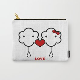 Clouds in love Carry-All Pouch