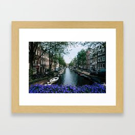 Charming Amsterdam Framed Art Print