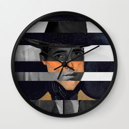 "Modigliani's ""Portrait of a Man with Hat"" & Humprey Wall Clock"