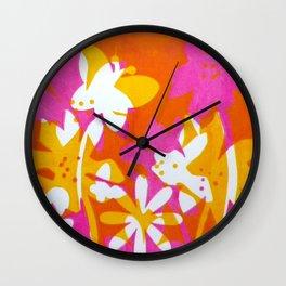 Hot Butterfly Wall Clock